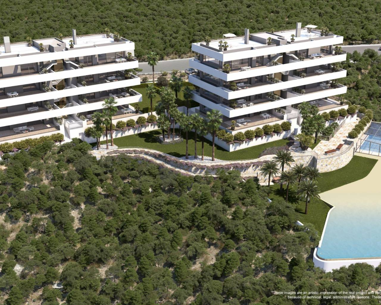 New Build - Apartment - San Miguel de Salinas - Las Colinas