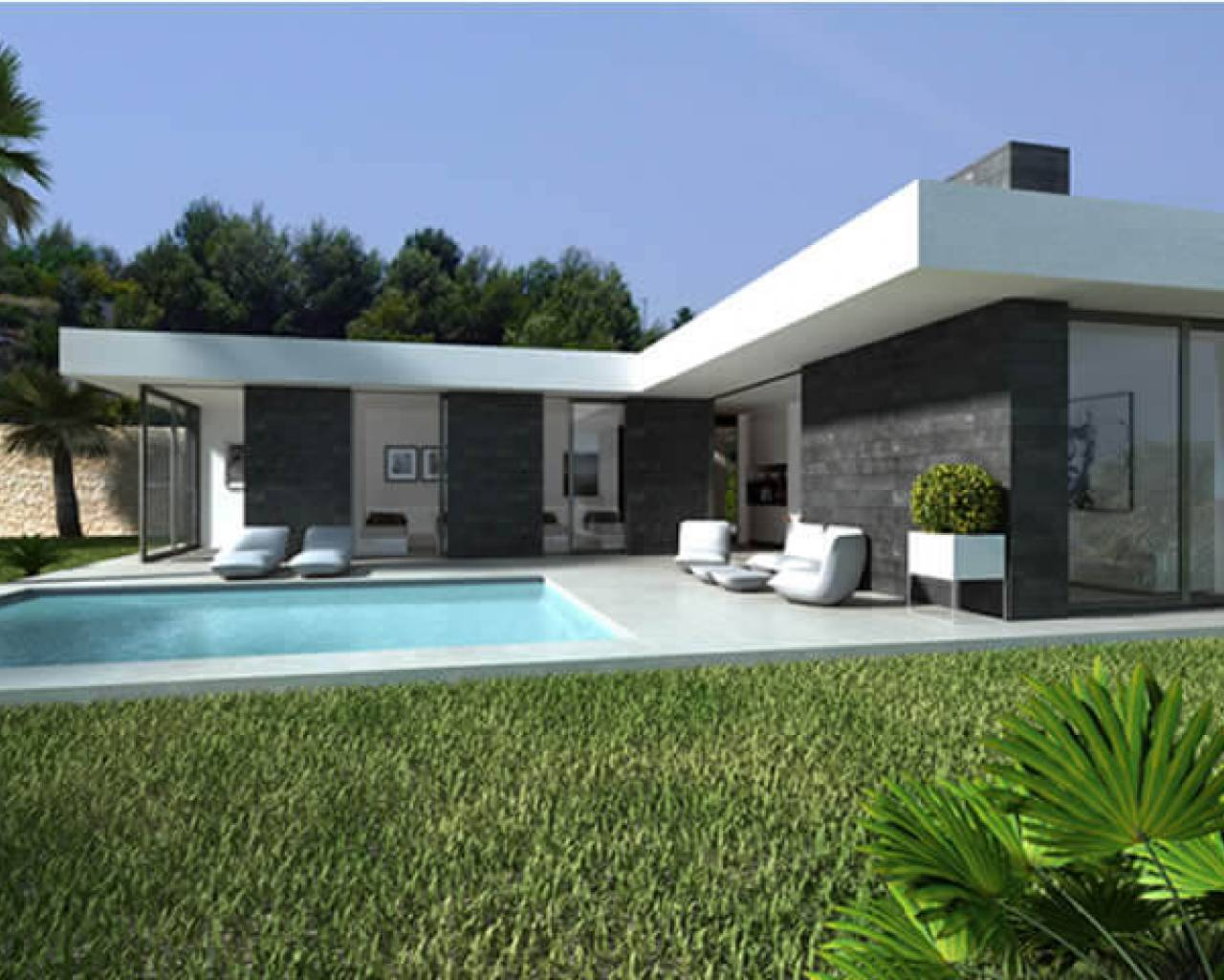 New Build - Villa - Denia - Monte Solana