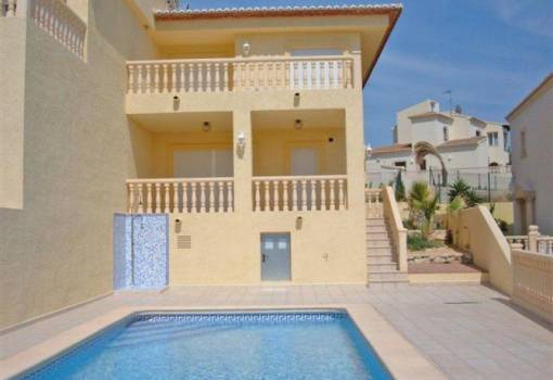 Semi-detached house - Herverkoop - Calpe - Calpe
