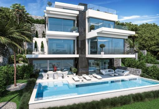 Villa of luxury first line - New Build - Javea - Arenal - Javea